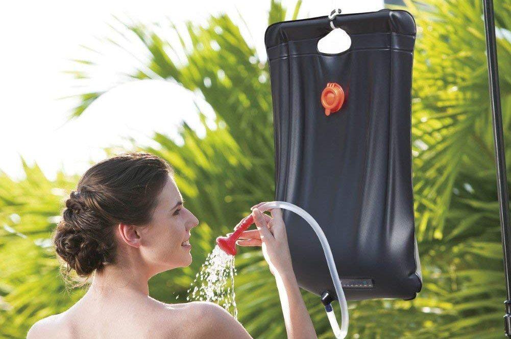 ducha solar portatil