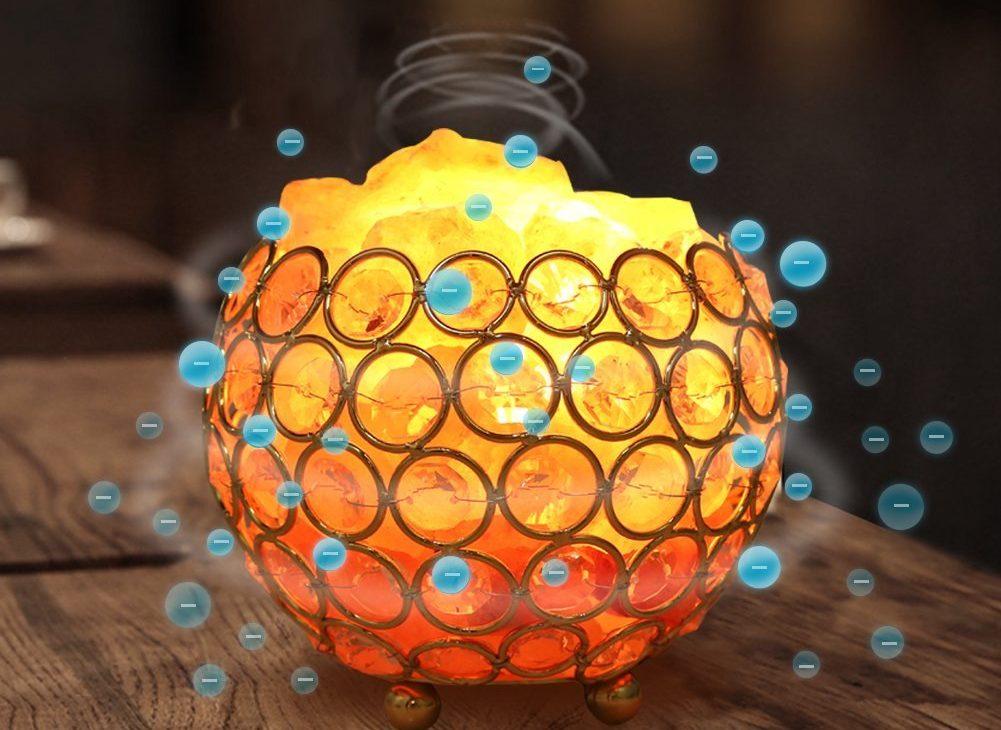 lampara iones negativos
